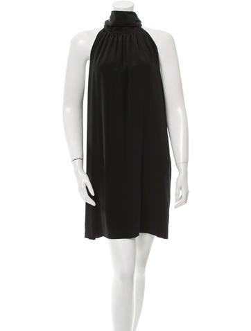 Barbara Bui Silk Shift Dress None