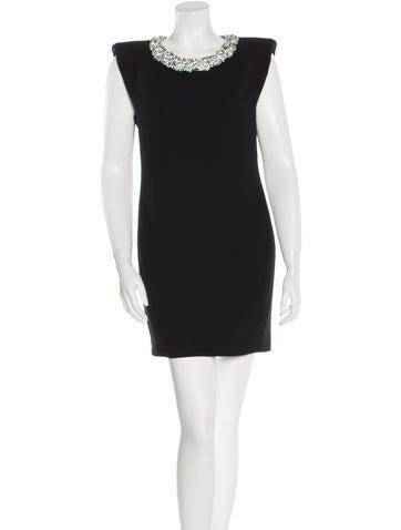 Barbara Bui Embellished Sleeveless Dress None