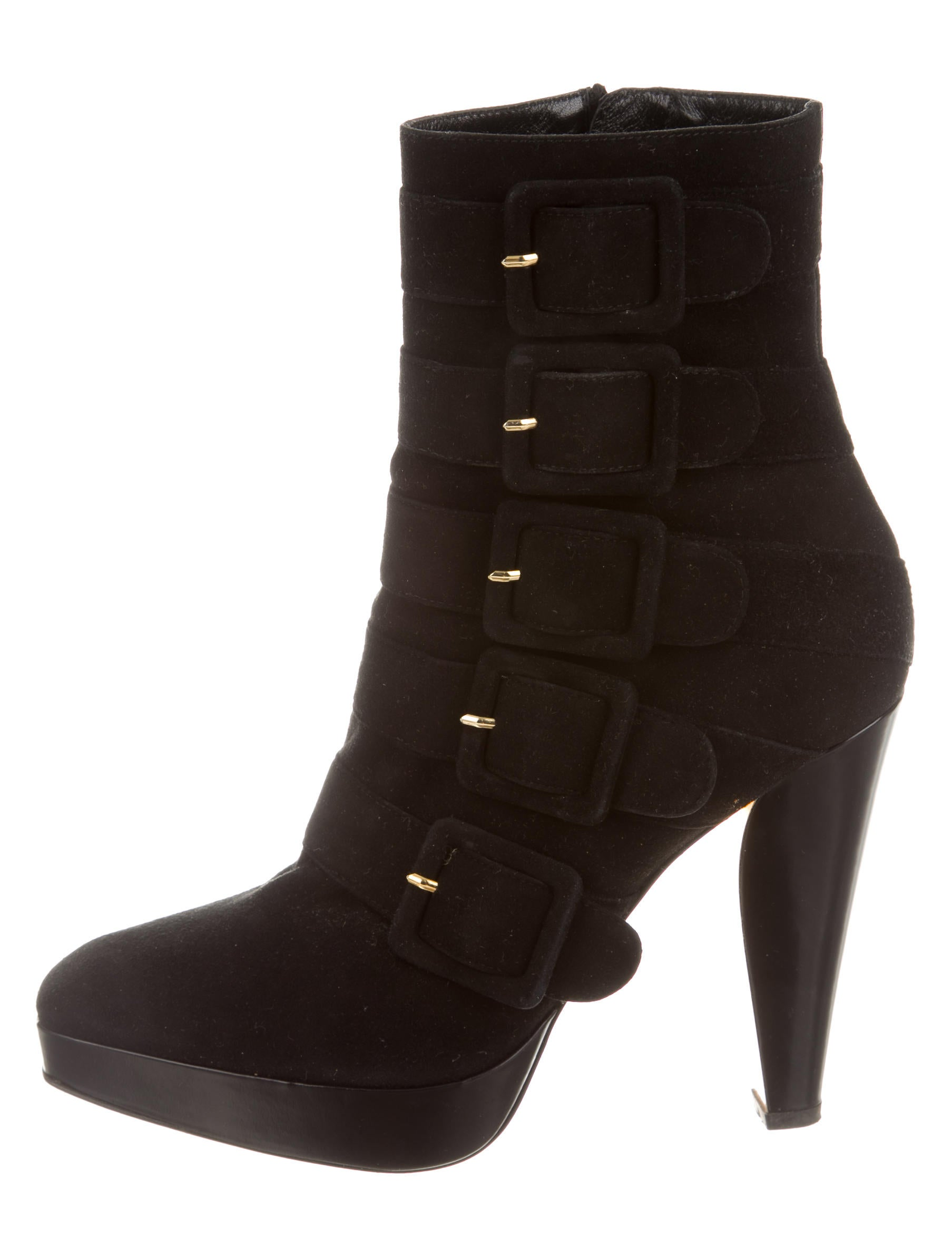 barbara bui suede platform ankle boots shoes bab22006