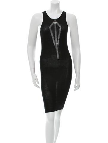 Barbara Bui Cashmere Knee-Length Dress None