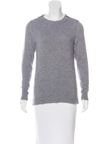 Barbara Bui Cashmere Rib Knit Sweater None