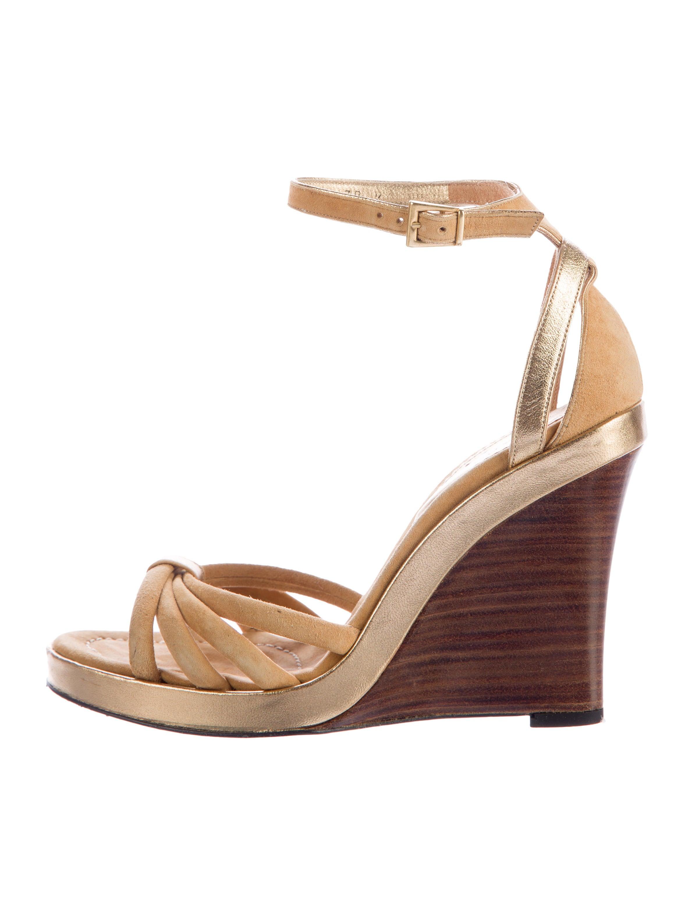 Barbara Bui Suede Wedge Sandalo scarpe RealReal BAB22699   The RealReal scarpe 49ec58