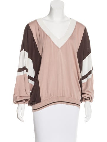 Barbara Bui Oversize Silk Sweater None