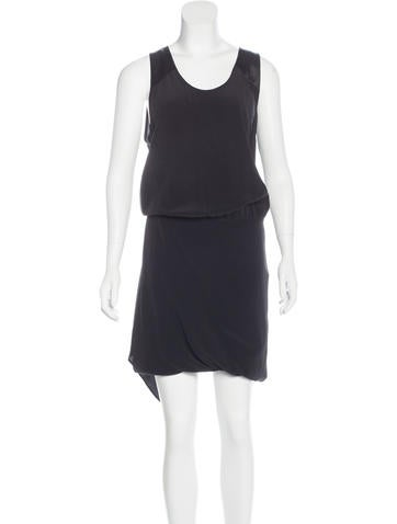 Barbara Bui Sleeveless Silk Dress None