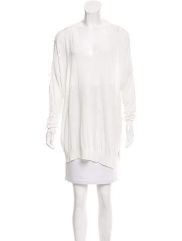 Barbara Bui Long Sleeve Knit Top None