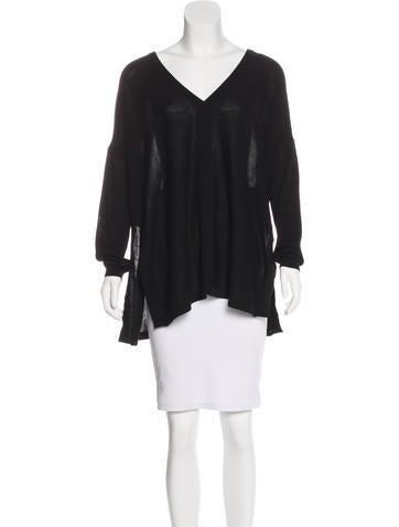 Barbara Bui V-Neck Knit Sweater None