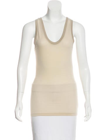 Barbara Bui Sleeveless Knit Top None