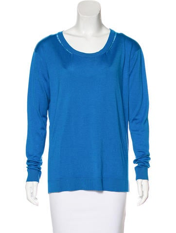Barbara Bui Knit Long Sleeve Top None