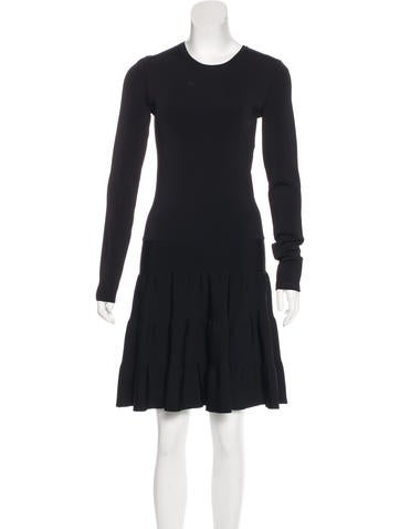 Barbara Bui Knit Long Sleeve Dress None