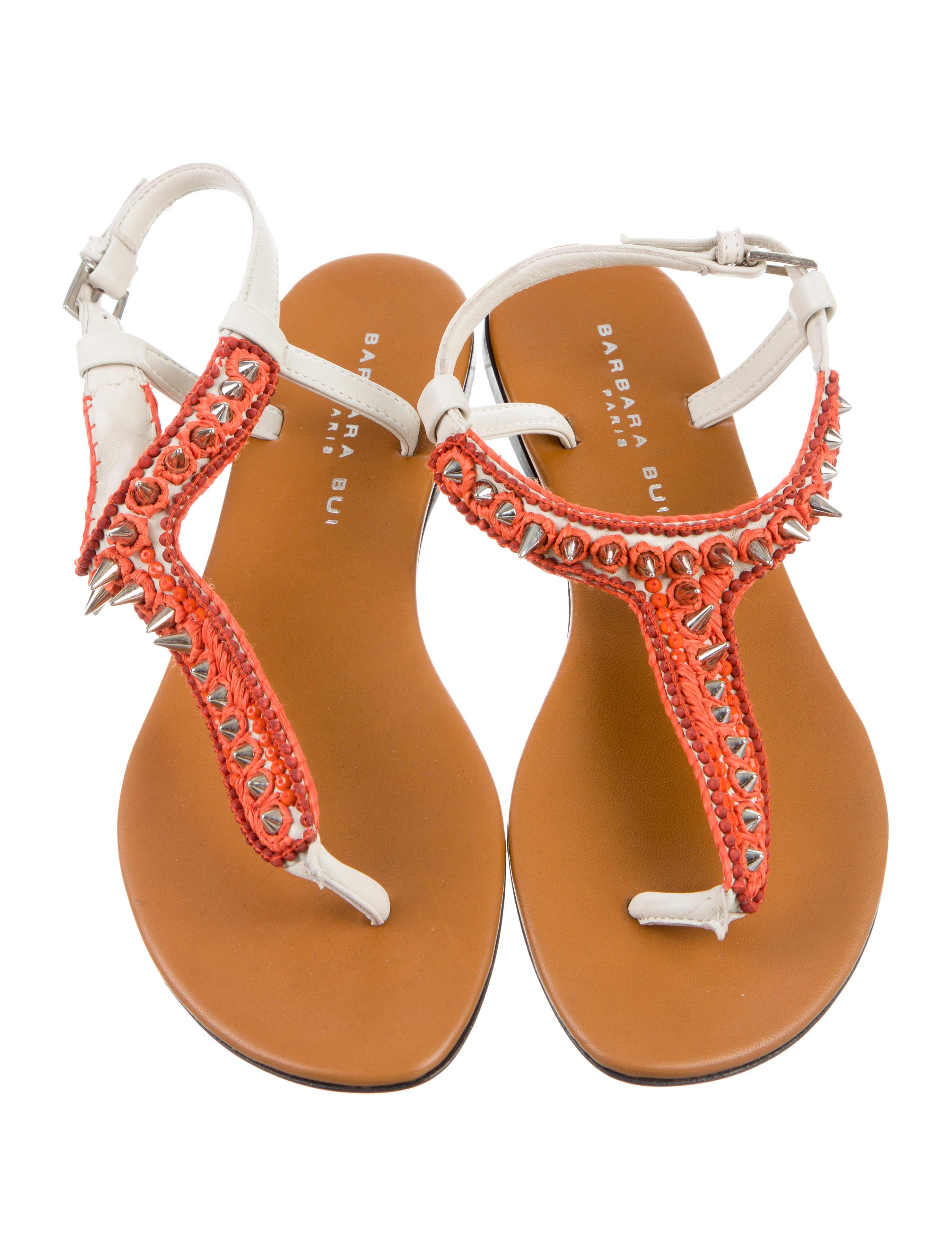 Barbara Bui Paracas Studded Sandals w/ Tags geniue stockist online sale Cheapest cheap sale supply discount explore CzjcEJKvH8
