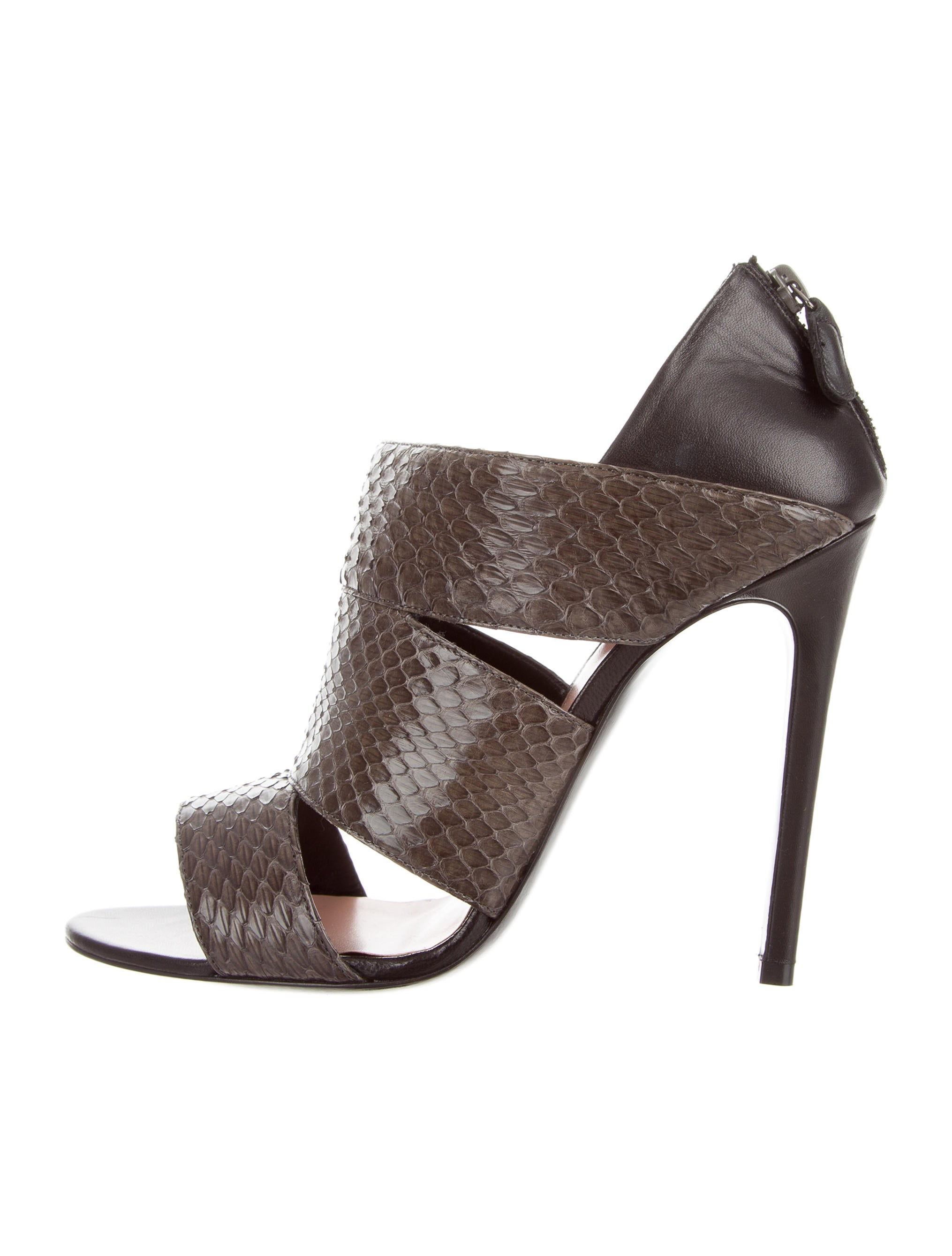 clearance cheap price sale low shipping fee Barbara Bui Python Pointed-Toe Pumps real online free shipping discount HStvxwJVY