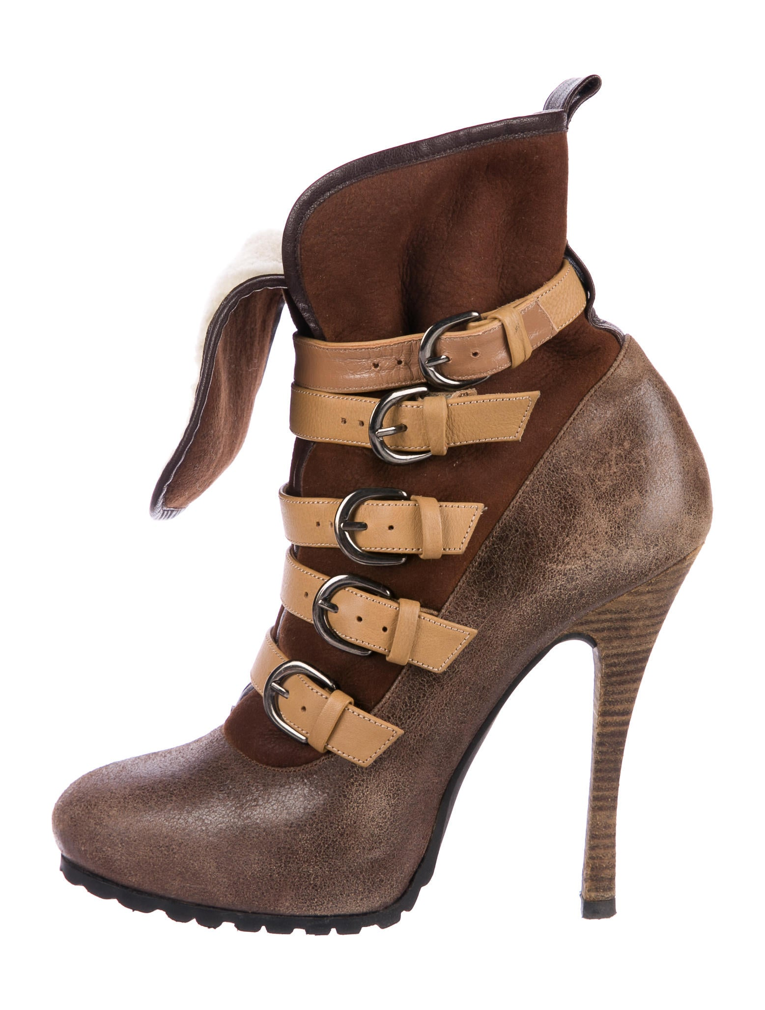 Barbara Bui Leather Multistrap Ankle Boots clearance clearance discount latest buy authentic online fake for sale l22OFp