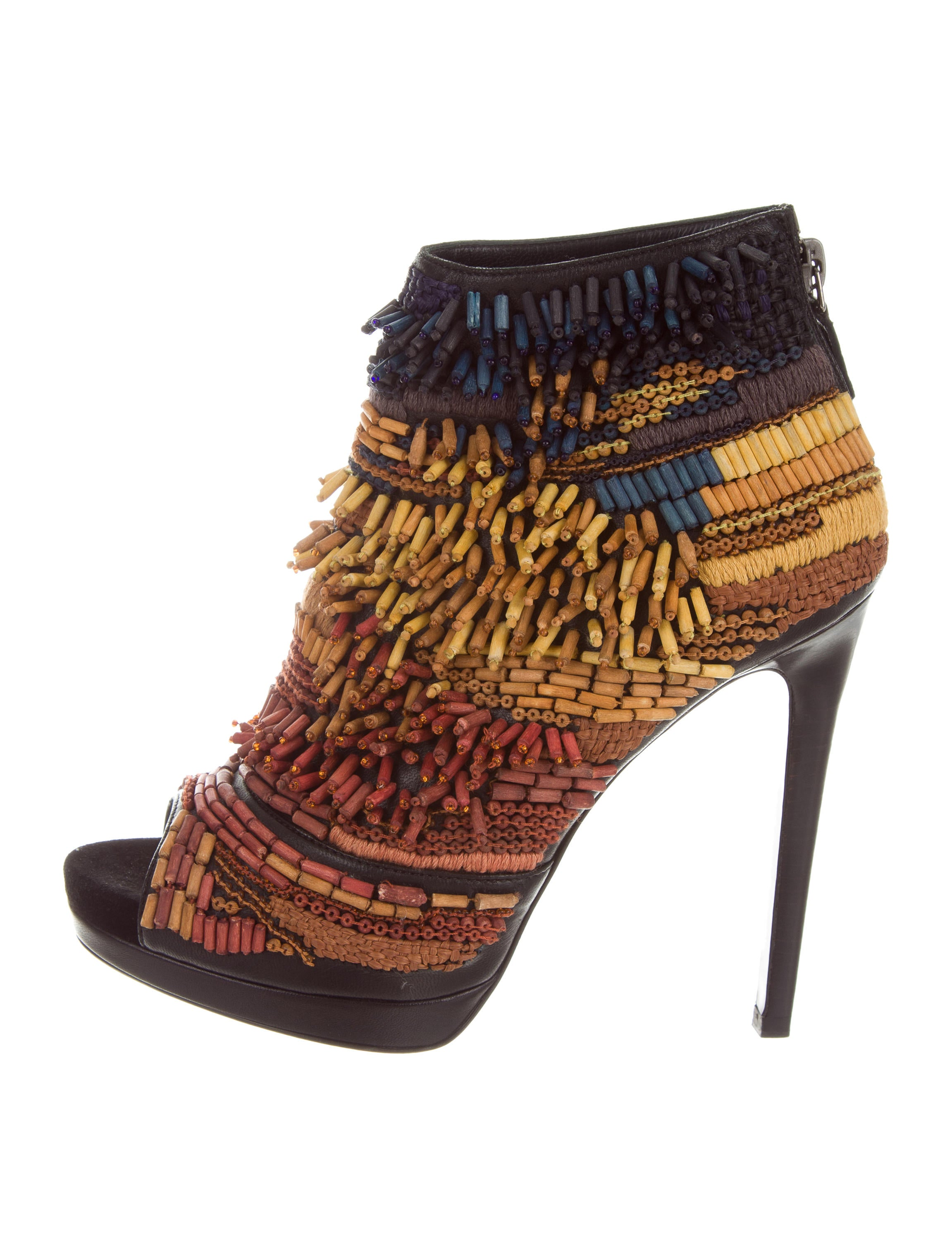 Barbara Bui Embellished Peep-Toe Ankle Boots outlet really many kinds of sale online clearance 100% original buy cheap manchester great sale erlYdTO