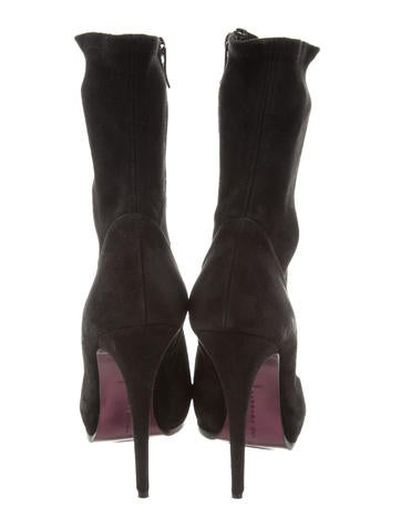 Barbara Bui Suede Platform Mid-Calf Boots cheap with credit card YiIhDxU2X