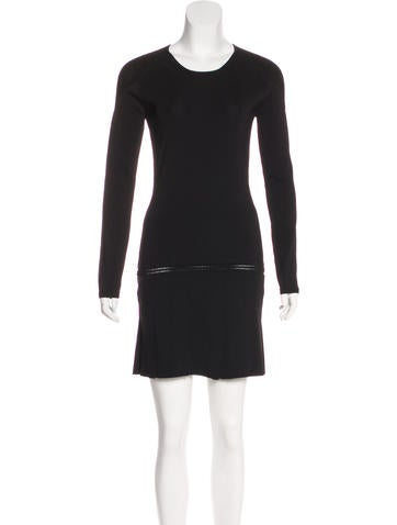 Barbara Bui Knit Mini Dress None