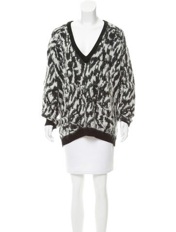 Barbara Bui Textured Knit Sweater None