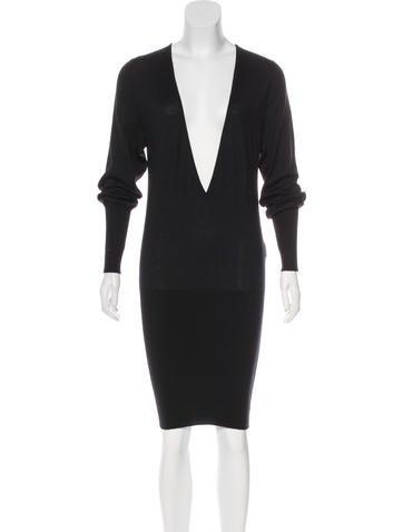 Barbara Bui Long Sleeve Knit Dress None