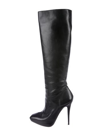 Barbara Bui Leather Knee-High Boots cheap really PQYsn