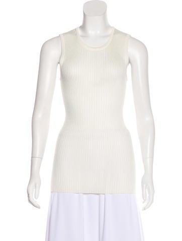 Barbara Bui Sleeveless Knit Top None