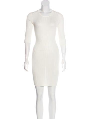 Barbara Bui Rib Knit knee-Length Dress w/ Tags None