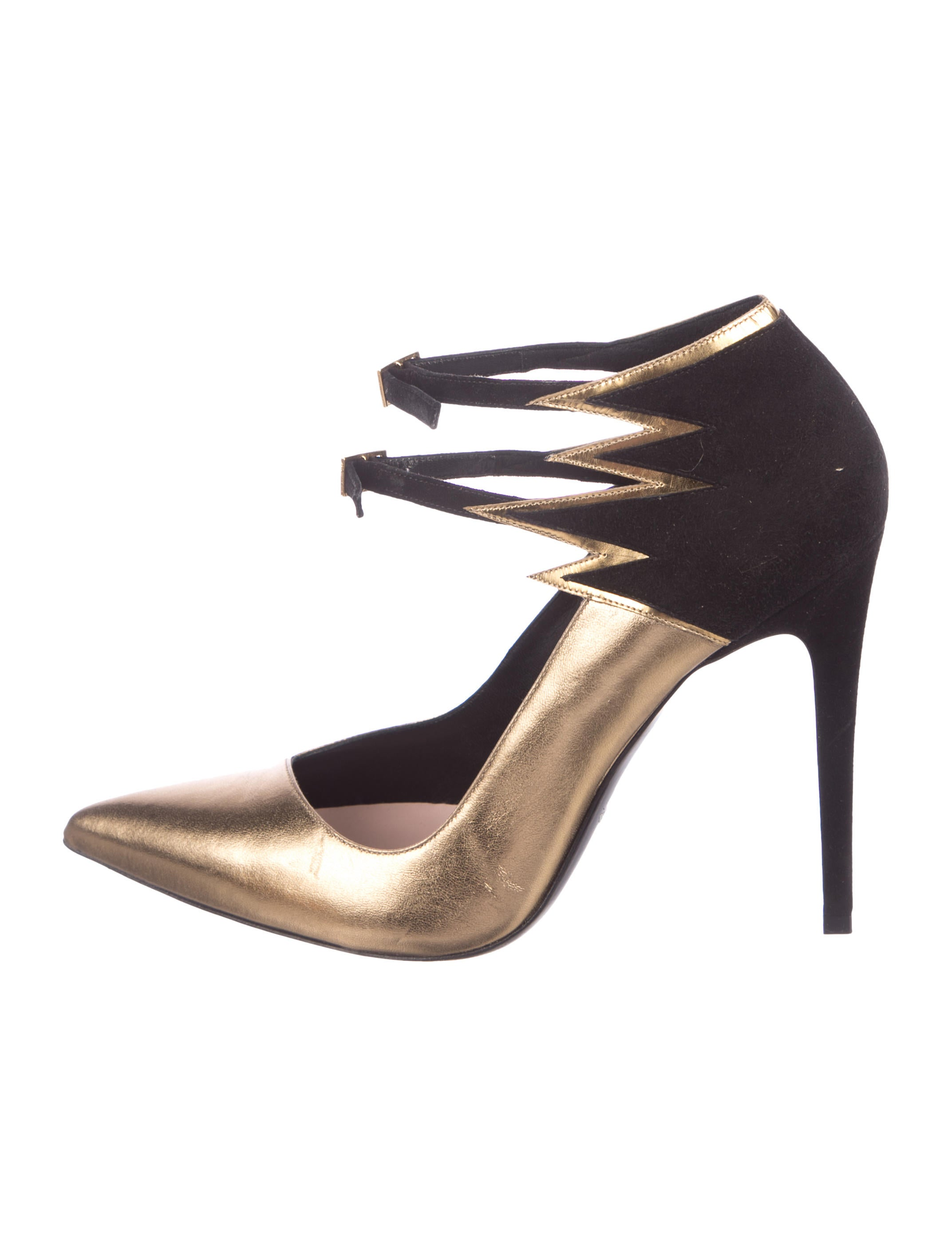 exclusive cheap online Barbara Bui Metallic Flame Pumps sale for nice outlet fashion Style W9ouiQWz