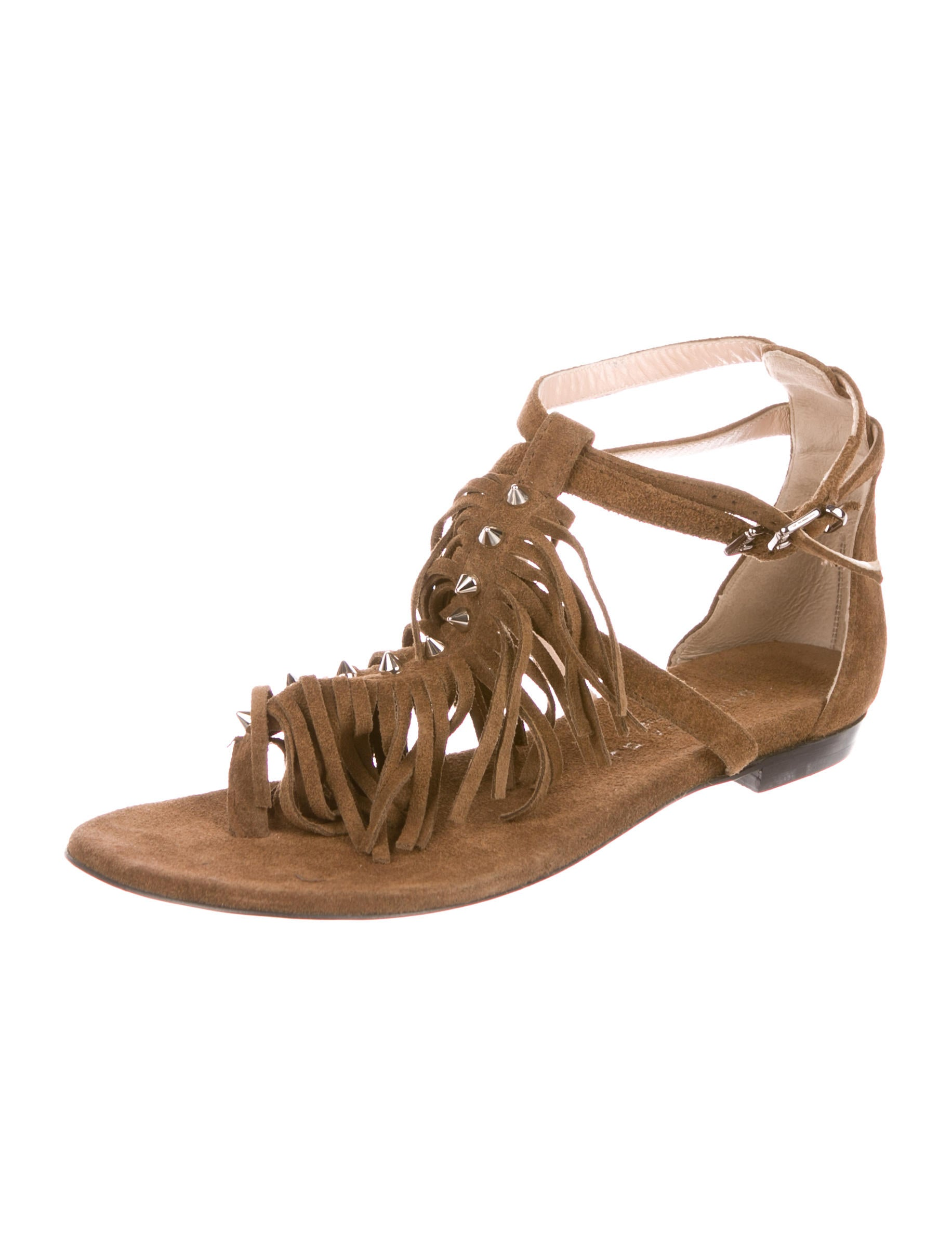 clearance clearance store Barbara Bui Fridge Suede Sandals outlet sale online NkyOMF4