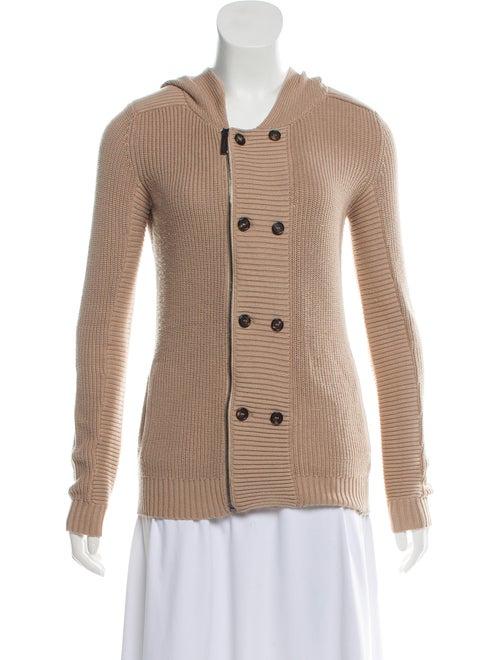Barbara Bui Hooded Rib Knit Sweater - Clothing - BAB27082  4d332eaba