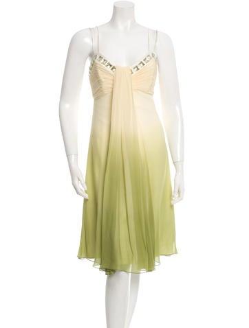 Ombré Silk Dress w/ Tags