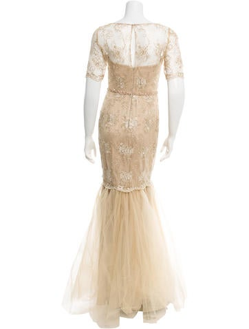 Beaded Evening Gown w/ Tags