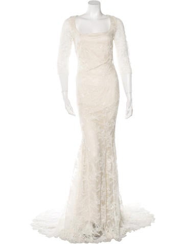 Lace Wedding Gown w/ Tags