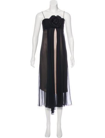 Badgley Mischka Embellished Cocktail Dress None