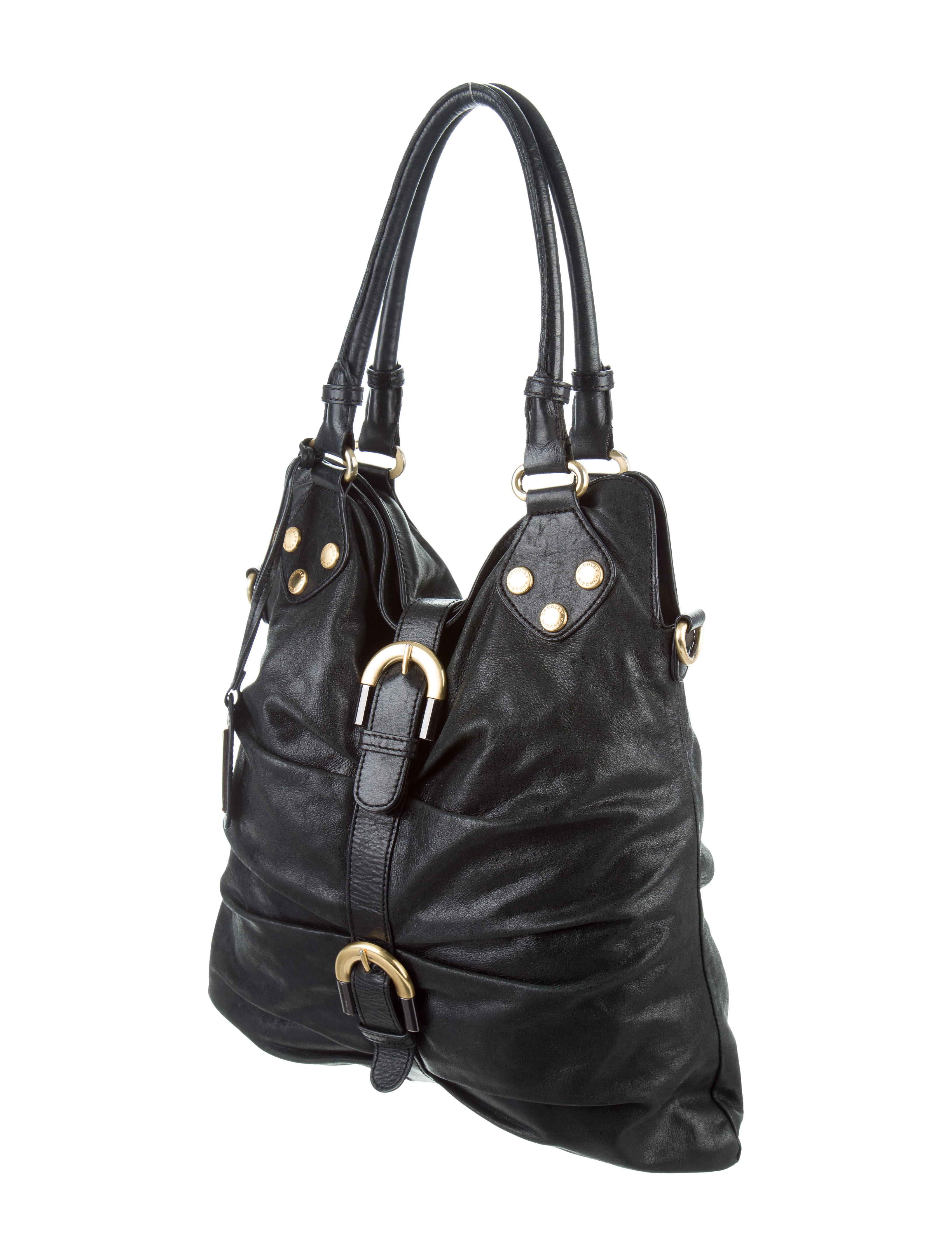 Badgley Mischka Platinum Label Carina Leather Hobo - PurseBlog