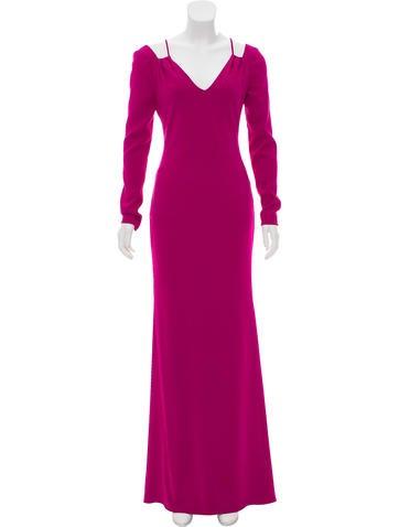 Cold Shoulder V-Neck Dress w/ Tags
