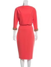 Embellished Midi Dress image 1