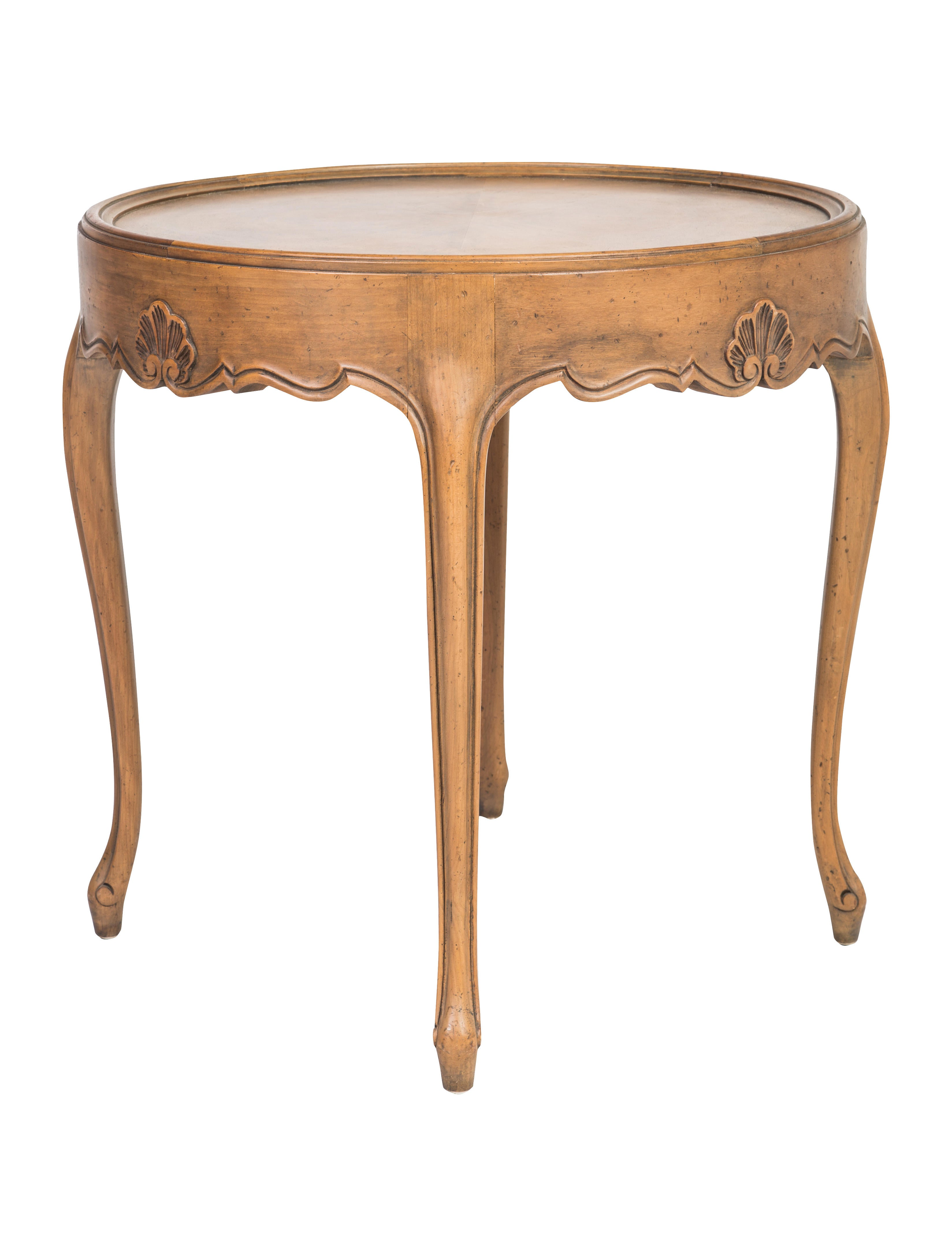 Baker round occasional table furniture baker20019 for Occasional furniture