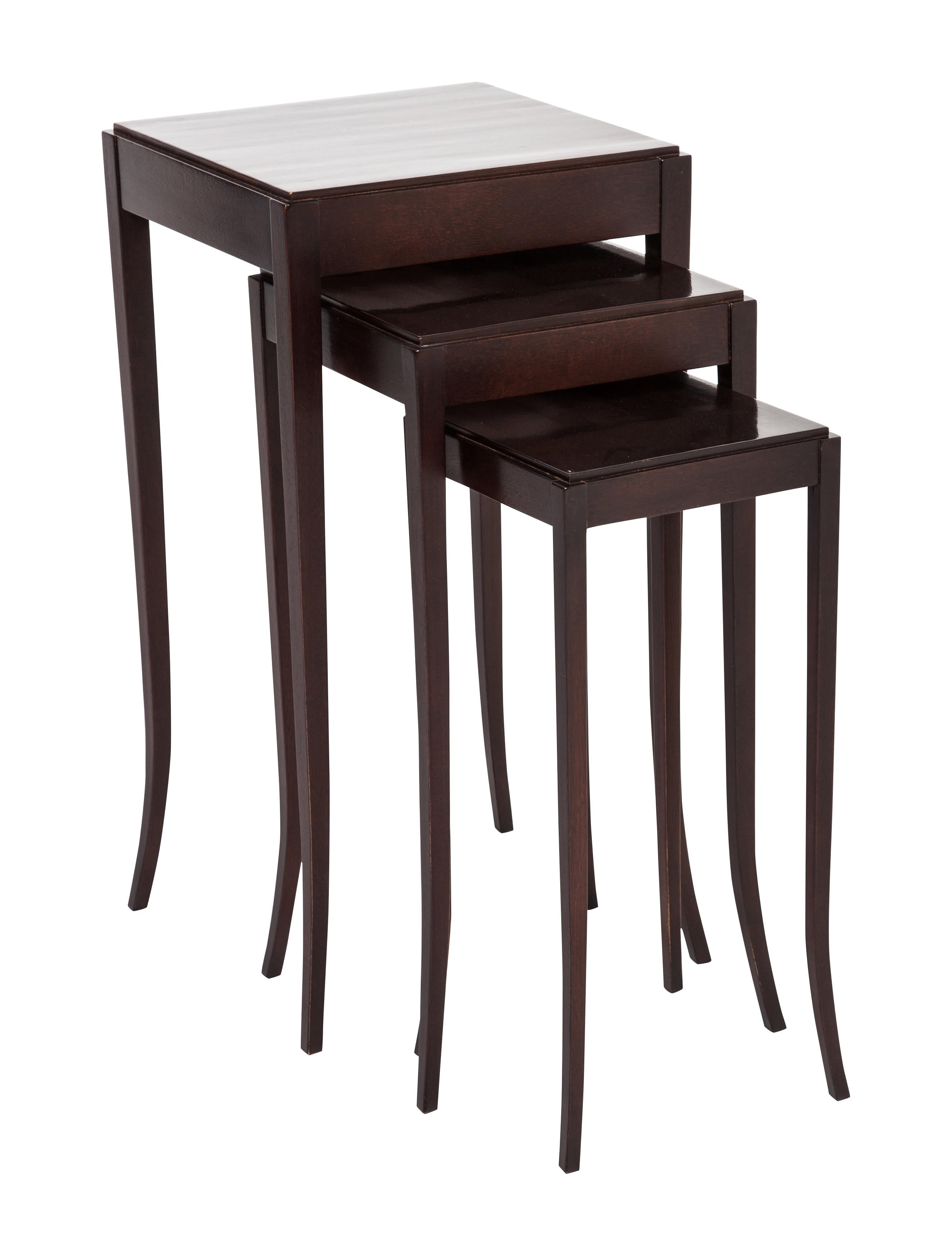 Baker barbara barry collection nesting tables furniture for Chair 6 mt baker
