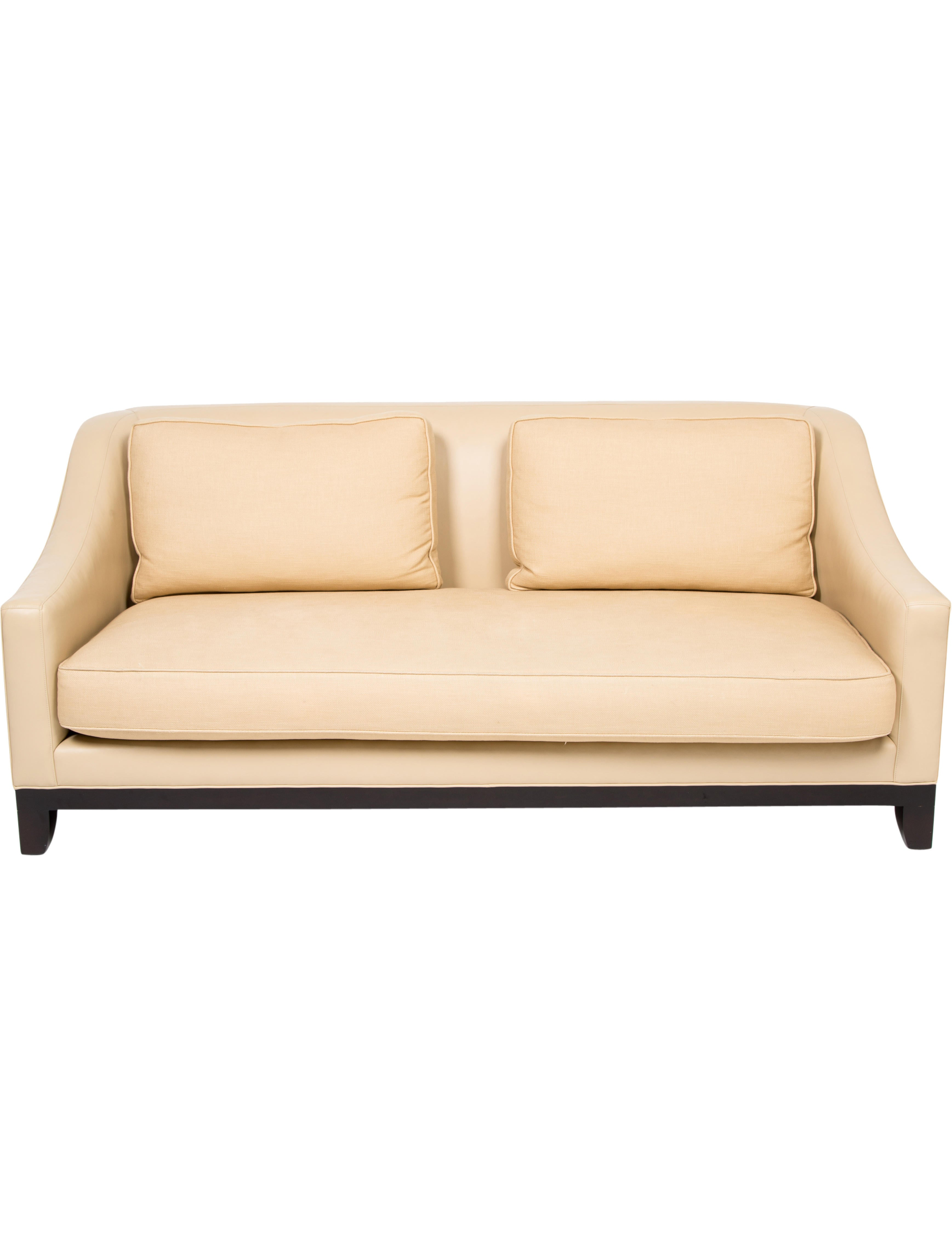 Sofa W/ Contrast Upholstery