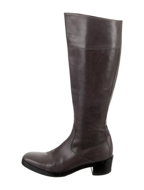 Balenciaga Leather Knee-High Boots