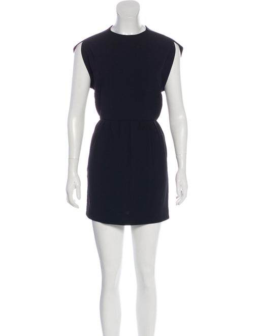 Balenciaga Cap Sleeve Mini Dress Black - image 1