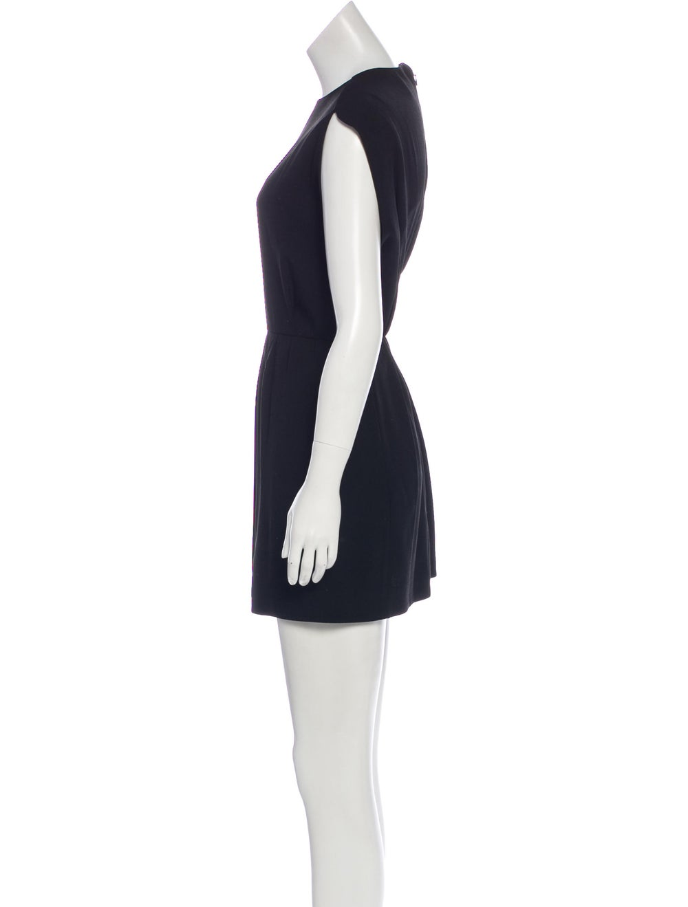 Balenciaga Cap Sleeve Mini Dress Black - image 2