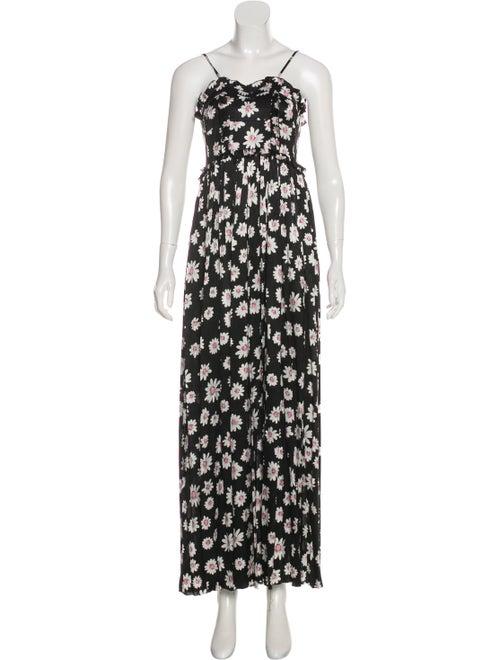 Balenciaga 2017 Silk Jacquard Dress