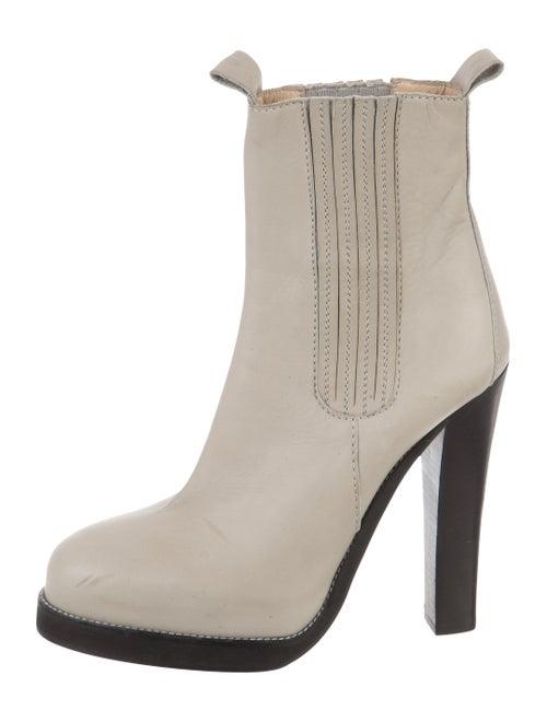 Balenciaga Leather Platform Boots