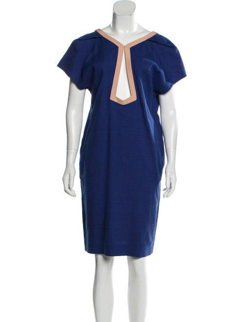 Balenciaga Cap Sleeve Knee-Length Dress w/ Tags B… - image 1