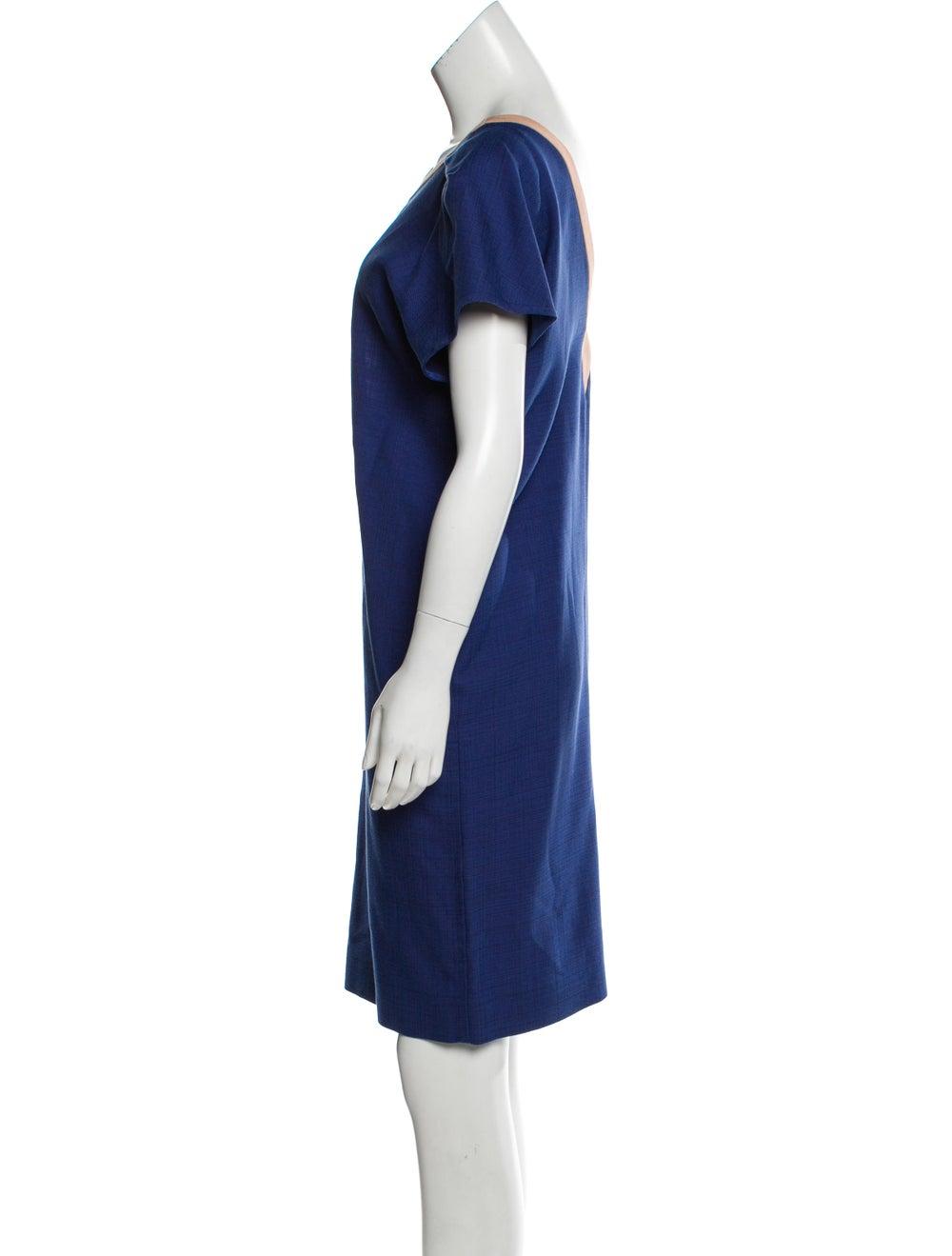 Balenciaga Cap Sleeve Knee-Length Dress w/ Tags B… - image 2