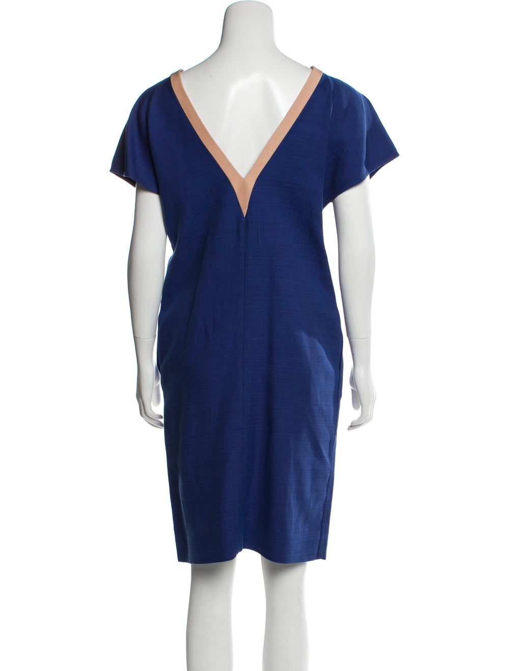 Balenciaga Cap Sleeve Knee-Length Dress w/ Tags B… - image 3