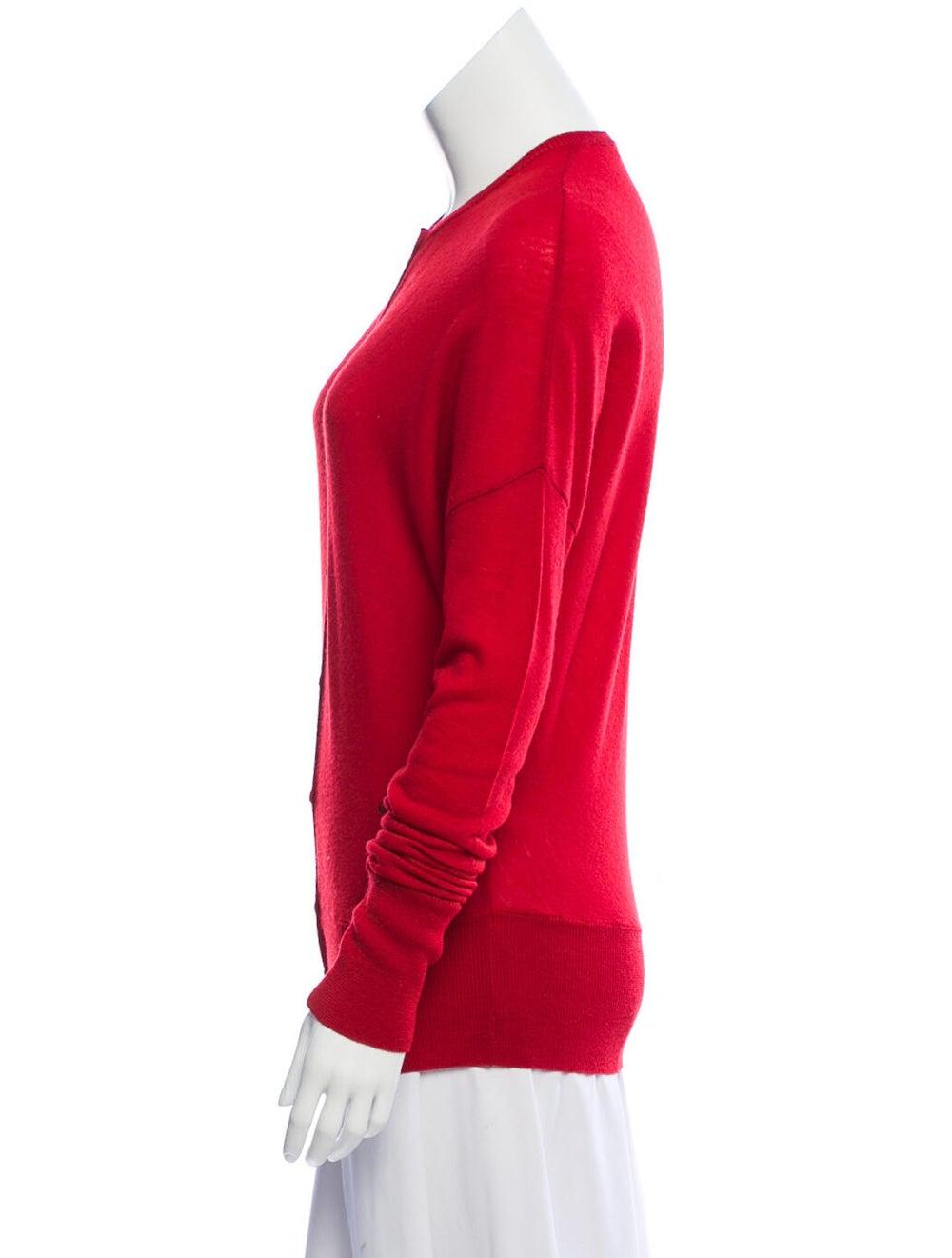 Balenciaga Wool Dolman Sweater Red - image 2