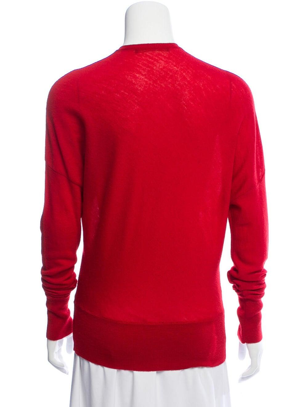 Balenciaga Wool Dolman Sweater Red - image 3