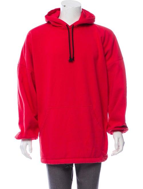 Balenciaga 2018 Oversize Hoodie red
