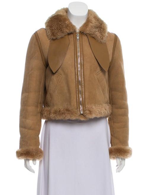 Balenciaga Shearling Moto Jacket