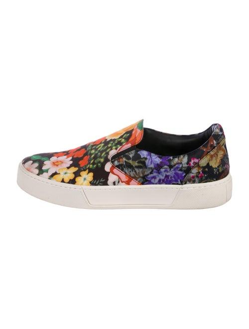 Balenciaga Floral Platform Sneakers Black
